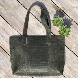 ❥ Bag Croc Green