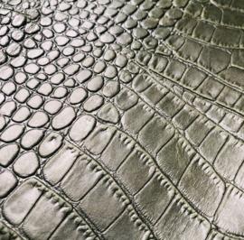 ❥ Wallet Croc Green