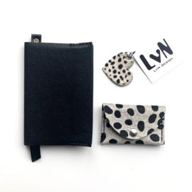 ❥ notebook A6 & mini purse