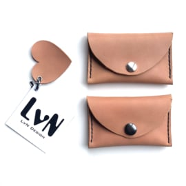 ❥ Mini Purse Salmon