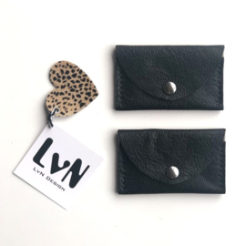 ❥ Mini Purse Black Cheetah