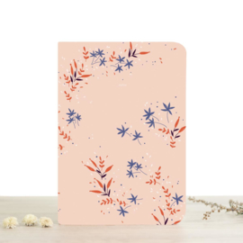❥  A5 NOTEBOOK - YASMINE - RULED PAGES