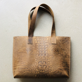 ❥ Bag Croc Brown