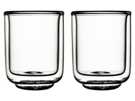 ❥ Dubbelwandig glas Fica 325ml 2 st.
