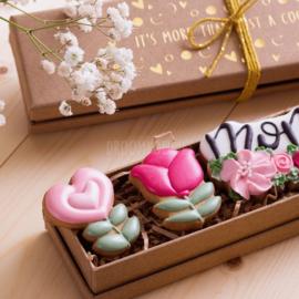 Luxe giftset MOM/OMA/MAM  (tekst keuze)