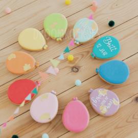 Ballonnen set van 10 stuks (regenboogkleuren)