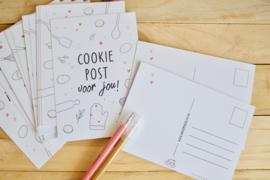 Cookiepost voor jou kaart
