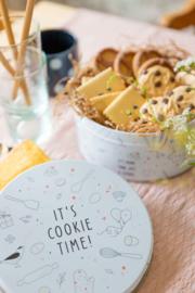 It's cookie time... koekjestrommel (gevuld)