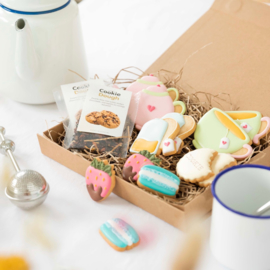 Cadeaupakket: Tea for two (incl thee/theezeefjes en koekjes)