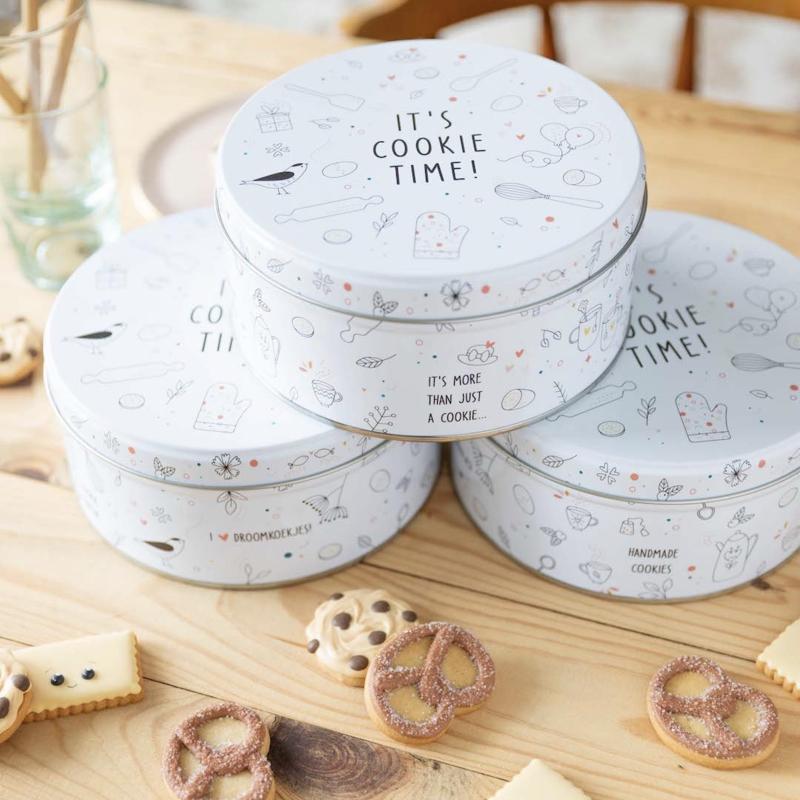 It's cookie time... koekjestrommel