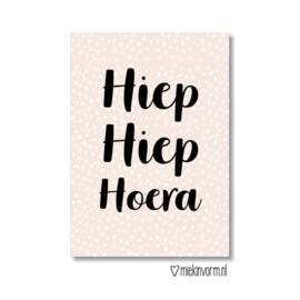 'Hiep Hiep Hoera'