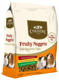 Burgess Country Value Fruity Nuggets Guinea Pig 1,5 kg