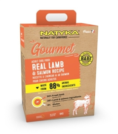 Natyka Gourmet Adult Lamb/ Salmon 9 kg