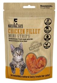 Rosewood Natural Eats Kip Fillet Mini Strips Kat 50 gr