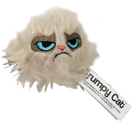 Crumpy Cat Haarbal Speeltje 5x5x5 cm