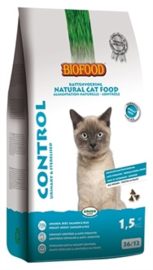 BIOFOOD CAT CONTROL URINARY & STERILISED 1,5 KG