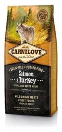 CARNILOVE SALMON / TURKEY ADULT LARGE BREED 12 KG