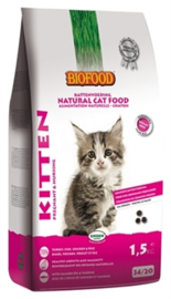 BIOFOOD CAT KITTEN PREGNANT & NURSING 1,5 KG
