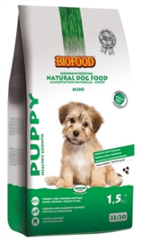 BIOFOOD PUPPY SMALL BREED 1,5 KG