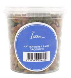 I Am Kattensnoep Zalm/Groenten 70 gr