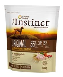 True Instinct Grain Free Medium Adult Chicken 600 gr