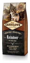 CARNILOVE REINDEER ADULT 12 KG