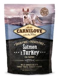 CARNILOVE SALMON / TURKEY PUPPIES 1,5 KG