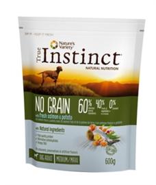 True Instinct Grain Free Adult Medium Salmon 600 gr