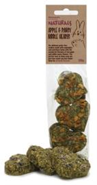 Rosewood Naturals Appel/Viooltjes Knaagharten 6 stuks