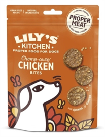 LILY'S KITCHEN DOG CHOMP-AWAY CHICKEN BITES 70 GR