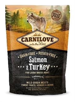 CARNILOVE SALMON / TURKEY ADULT LARGE BREED 1,5 KG