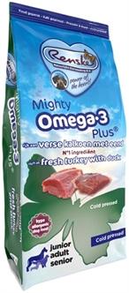Renske Mighty Omega Plus Kalkoen/Eend Geperst 3 kg
