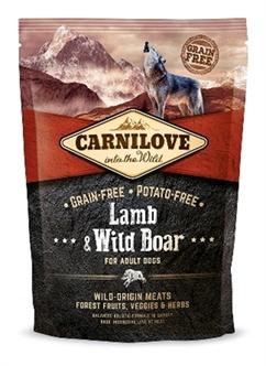 CARNILOVE LAMB / WILD BOAR ADULT 1,5 KG