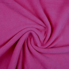 Losse Fleece Stroken Donker Roze