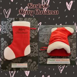Kerst Sok Merry Christmas