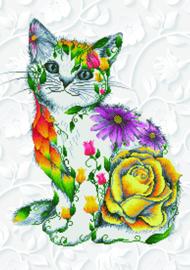Diamond Dotz 'Flower Puss'