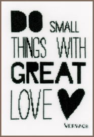 Vervaco 'Do small things'