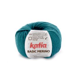 Basic Merino Donkerturquoise
