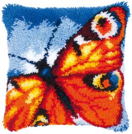 Knoopkussen Oranje vlinder
