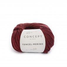 Tencel-Merino Rood
