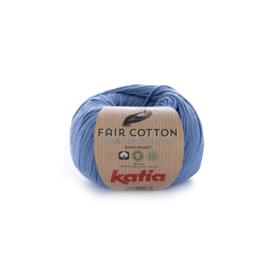 Fair Cotton Blauw