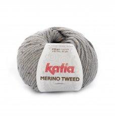 Merino Tweed Lichtgrijs