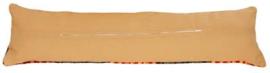 Tochtkussenrug met rits - Beige