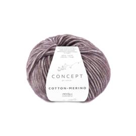 Cotton-Merino Aubergine