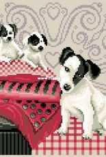 DMC 'Dogs on Cushions'
