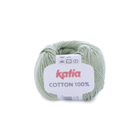 Cotton 100% Pastelgroen