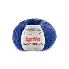 Basic Merino Blauw