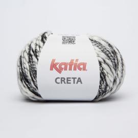Creta Wit/Zwart