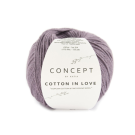 Cotton in Love Paars