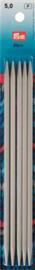 Kousenbreinaalden 5,00mm 20cm (5nld)